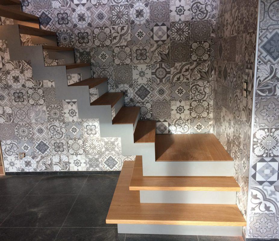 Bekleden van trap
